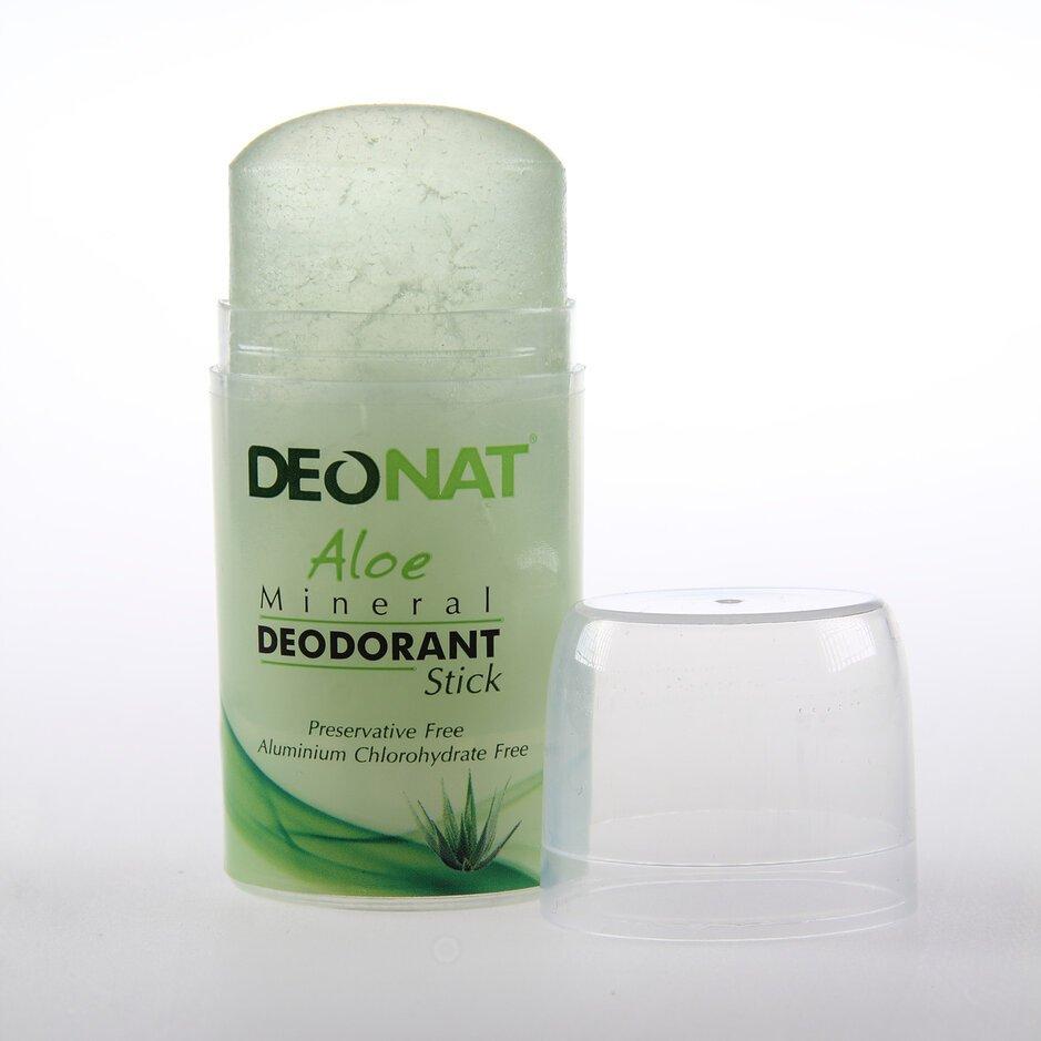 Дезодорант из алюмокалиевого квасца с соком алоэ (стик)