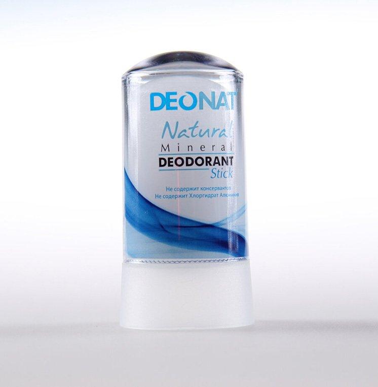 Дезодорант-кристалл «ДеоНат» чистый, стик
