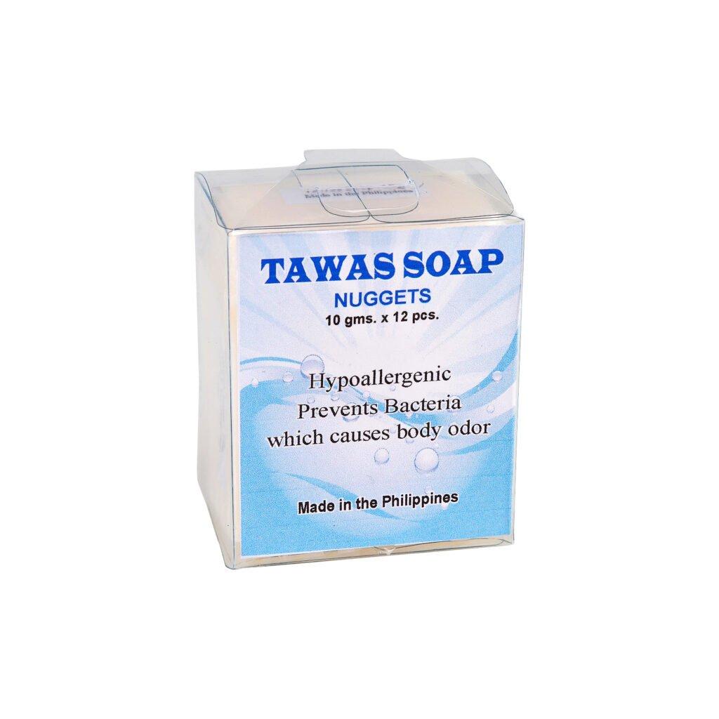 100% кокосовое мини-мыло на квасцах (12 шт. в упаковке)