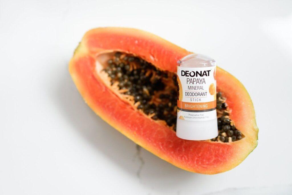 Дезодорант из алюмокалиевого квасца с экстрактом папайи (стик)