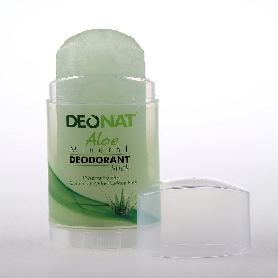 Дезодорант из алюмокалиевого квасца с соком алоэ (стик вывинчивающийся)
