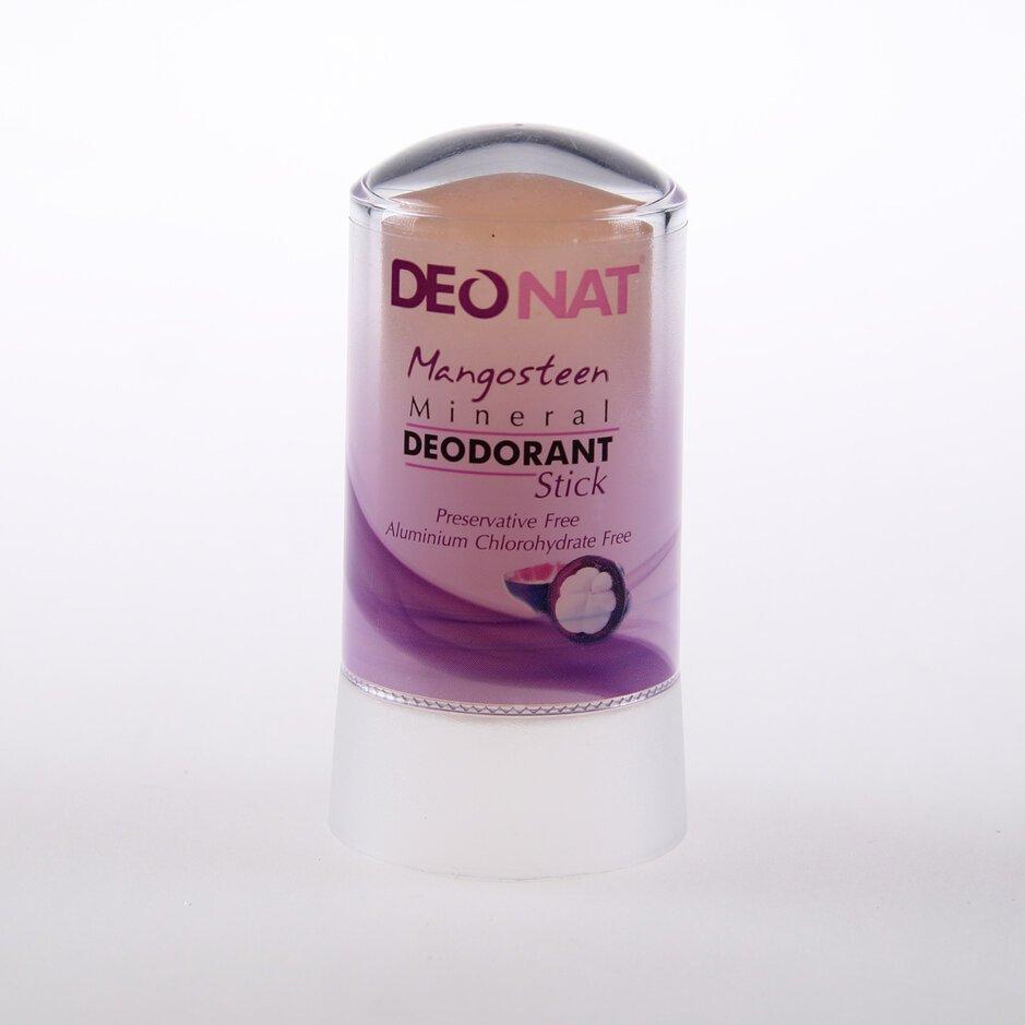 Дезодорант из аммонийного квасца-60г. с соком мангостина (розовый стик)