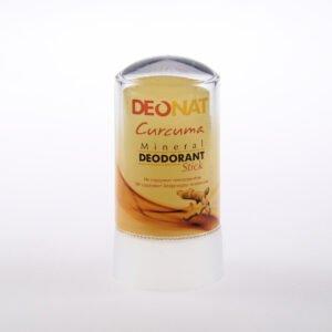 Дезодорант из аммонийного квасца с куркумой (жёлтый стик)