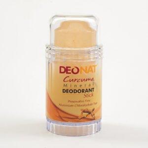 Дезодорант из аммонийного квасца с куркумой (жёлтый стик вывинчивающийся)