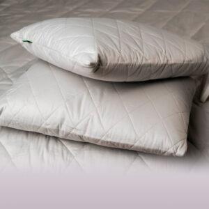 Набор из двух подушек 50х70 и 2-х спальное одеяло с конопляным наполнителем 175х205