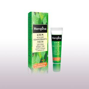 Крем для кожи вокруг глаз Защита, питание и увлажнение Hempina