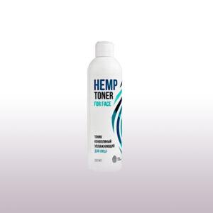 Тоник конопляный увлажняющий для лица Hydrating Hemp Toner for face