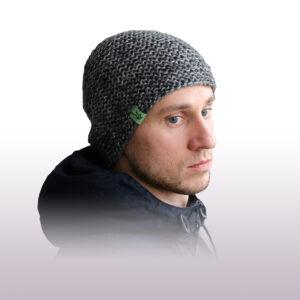 Вязаная шапка бини «Джагат»