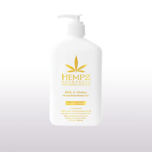 Молочко для тела увлажняющее Молоко и Мёд от «Hempz»